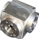 Low Backlash, Spiral Bevel Gearbox