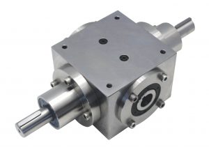 "Hollow 1"" shaft, opposite-rotating solid shaft"