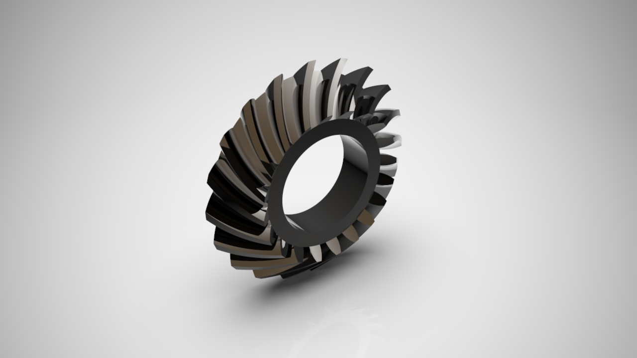 Rototime Spiral Bevel Gear