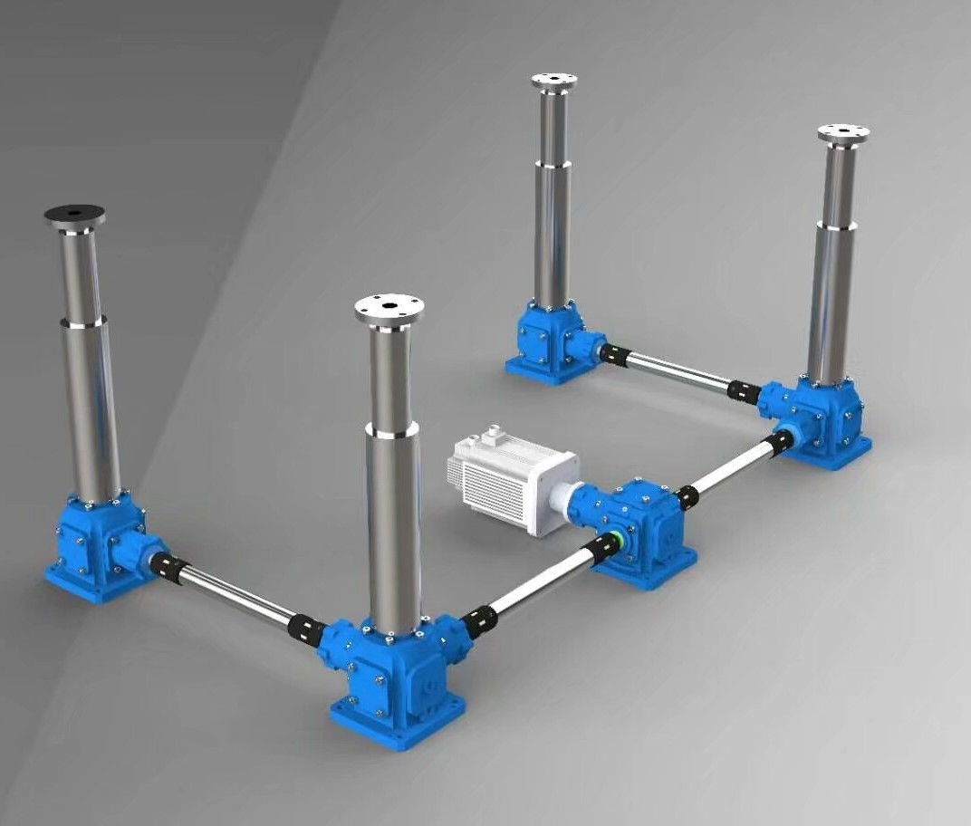 ScrewJack, Bevel Gearbox Jack