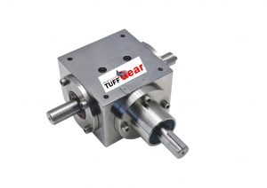 High strength, Spiral bevel gearbox